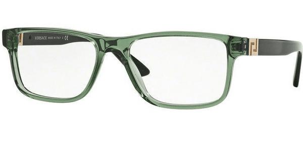 Versace Eyeglasses Square Style