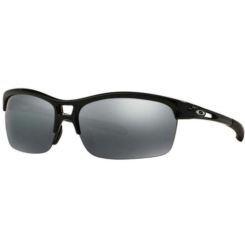 Oakley Sunglasses Browline Style Black Iridium Lens
