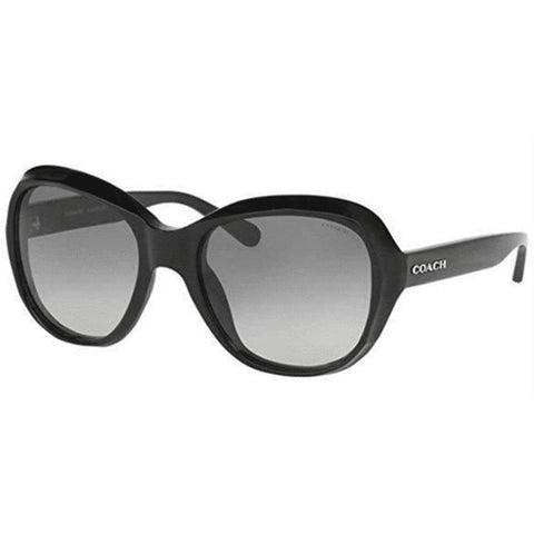 Coach Sunglasses Square Style Grey Gradient Lens