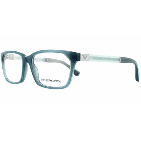 Emporio Armani Eyeglasses Having Rectangle Frame Demo Lens