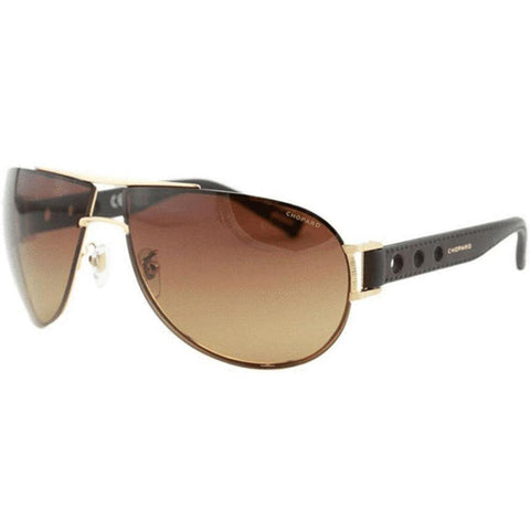 Chopard Sunglasses Pilot Style Brown Gradient/Polarized Lens