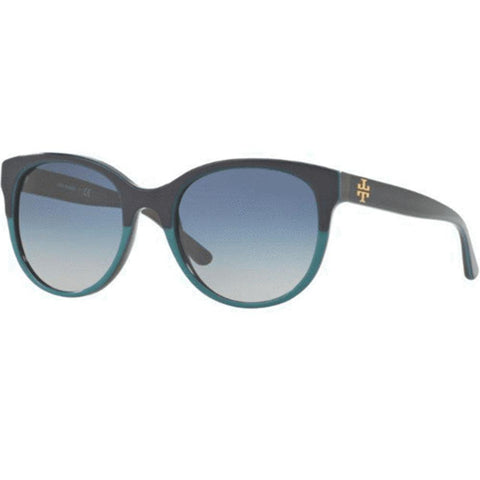 Tory Burch Sunglasses Square Style Blue Gradient Lens