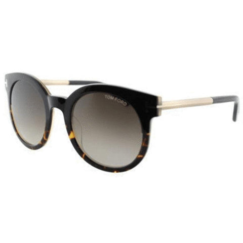 Tom Ford Sunglasses Round Style Brown Gradient Lens