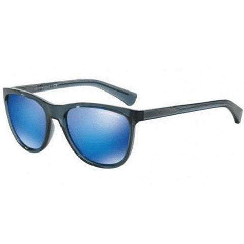 Emporio Armani Sunglasses Men Square Frame Blue Lens
