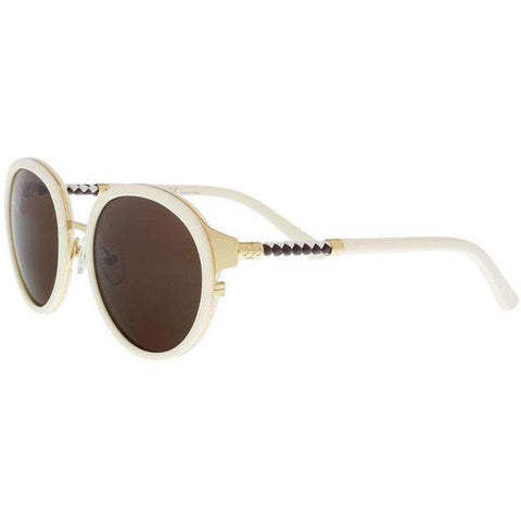 Tory Burch Sunglasses Round Style Brown Lens