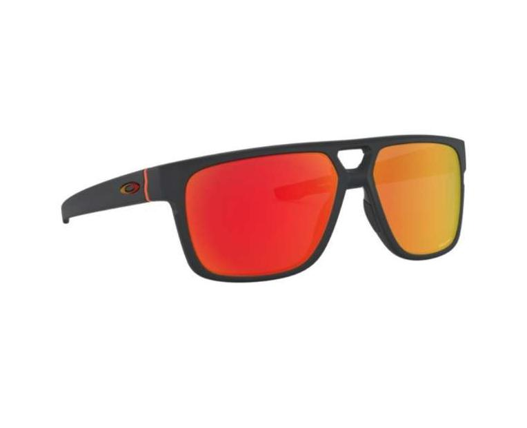 Oakley Crossrange OO9391 1160 Patch Men Sunglasses Matte Carbon w/Prizm Ruby Len