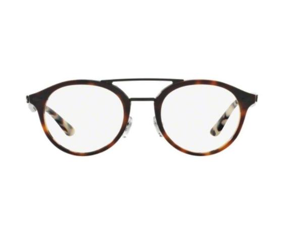 Ray Ban RX5354 5676 50MM Eyeglasses Unisex 50-21-145 Top Brown Havana Acetate