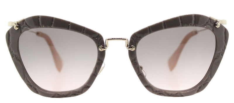 Miu Miu Sunglass - MU10NS USY4K0 - Cat Eye Style Grey Gradient Lens