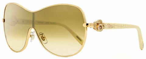 Chopard Shield Sunglasses SCHC25S 8FCG Copper Gold/Ivory 99mm C25