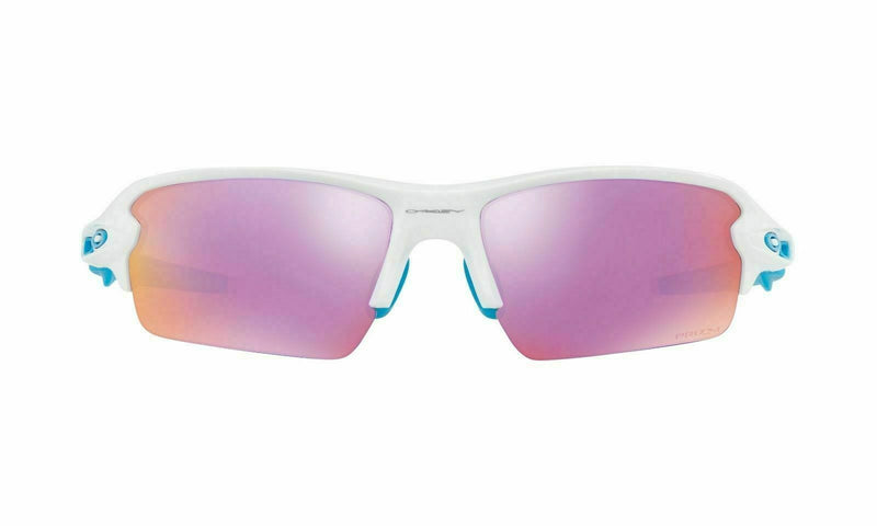 Oakley Flak 2.0 Asian Fit Polished White Prizm Golf Sunglasses OO9271-1761