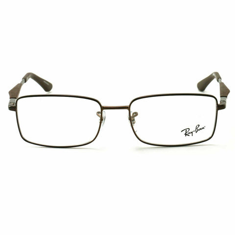 Ray-Ban Rectangular Shape Brown Eyeglass - RB6284-2758