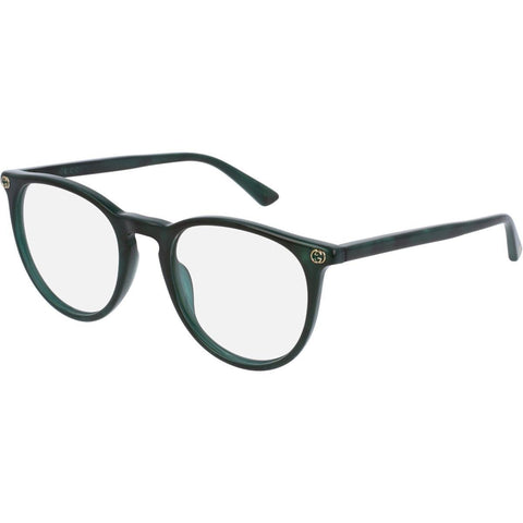 Gucci Eyeglass Round style GG0027O 006 50MM- Green frame