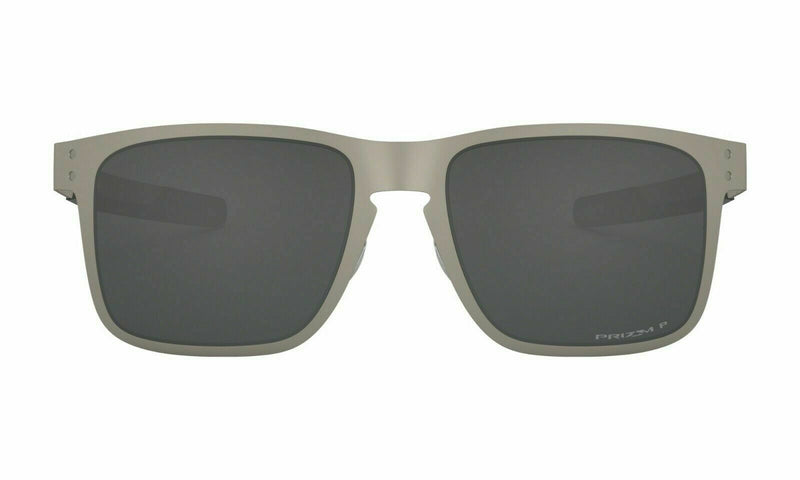 Oakley Sunglass Square Style Satin Chrome Color | Holbrook Metal OO4123-0955