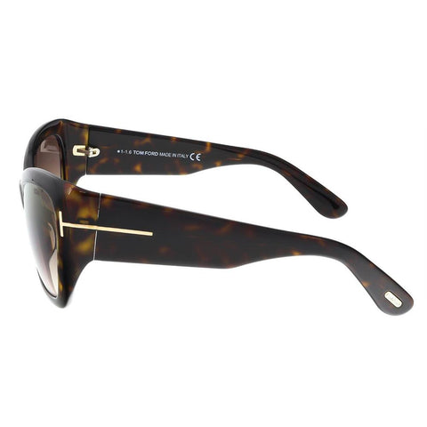 Tom Ford Sunglasses Cat Eye Style Brown Gradient Lens