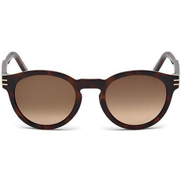 Mont Blanc Sunglasses Oval frame Brown Lens | Front view