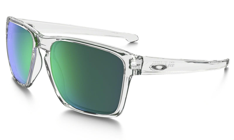 Oakley Sliver XL Sunglasses Clear Jade Iridium OO9341-02 green emerald Genuine