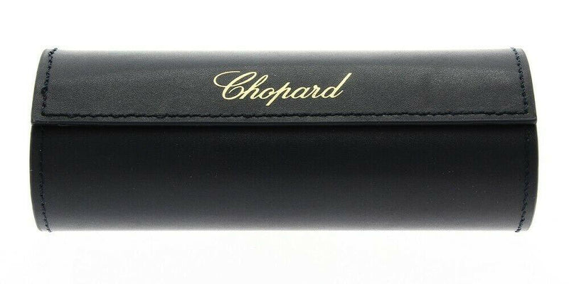Chopard Sunglass - SCH207S 700P 54 Square Style Shiny Black / Gold Color Sunglass