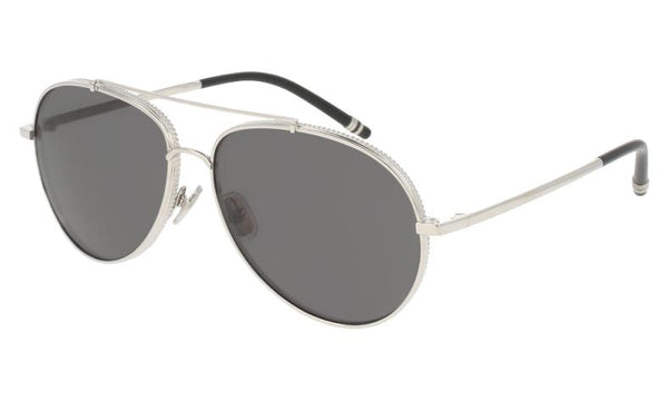 Boucheron Sunglasses Unisex Pilot Style and Frame Grey Lens