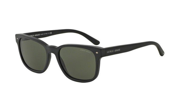 Giorgio Armani Sunglass Square Style with Green Lens - AR8049 5042 56MM