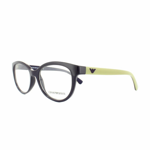 Emporio Armani Eyeglass Oval Style Frame with Demo Customisable Lens - EA3104 5560 54