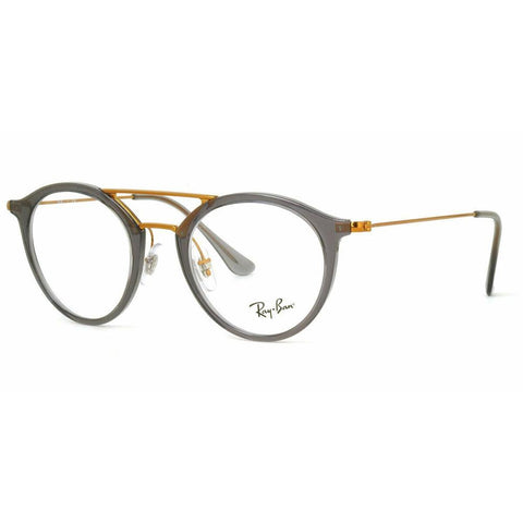 Ray Ban RB RX7097 5633 47 Gray Optical Eyeglasses Frame RX RB7097 47-21