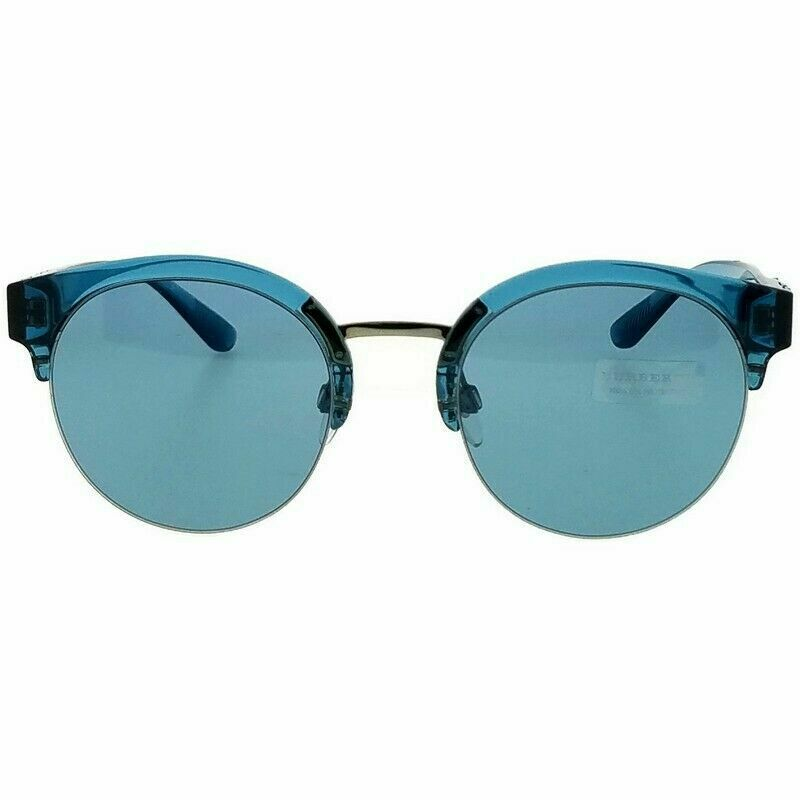Burberry Sunglasses BE4241 367280 52MM Blue Frame Blue Lens
