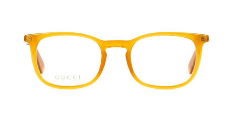 Gucci Eyeglass Square style GG0122O 004 50