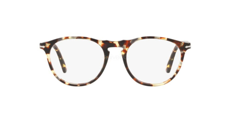 New PERSOL Eyeglasses PO3205V 1057 51 Havana Grey Brown Optical Frame