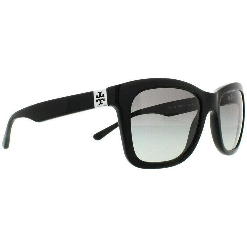 Tory Burch Sunglass - Square Style TY7118 170911 Gradient Black Color Sunglass