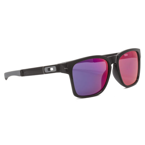 New Oakley Catalyst Sunglasses OO9272-06 Black Ink / Positive Red Iridium F/Ship