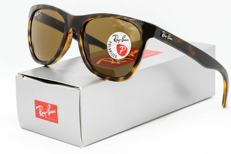 Ray Ban RB4184 710/83 Polarized Sunglasses Tortoise / Brown Classic