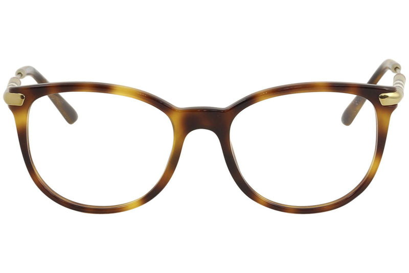 Burberry Men's Eyeglasses BE2255Q BE/2255/Q 3316 Light Havana Optical Frame 53mm