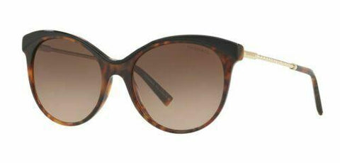 Tiffany & Co. DIAMOND POINT TF4149 80503B 55 Dark Havana/Brown Shaded Sunglasses