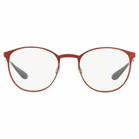Ray-Ban Rx Eyeglasses Red Color w/Demo Lens Unisex RX6355 2922 50 Optical Frame