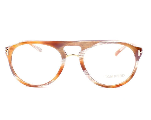 Tom Ford Eyeglasses TF5007 Marble Brown Q41 Frame 5007