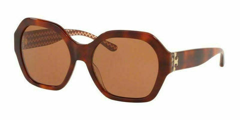 Tory Burch TY7120 165873 57 Women's Tortoise Frame Brown Lens Genuine Sunglasses