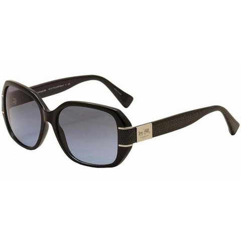 Coach Sunglasses Wayfarer Style Grey Gradient Lens