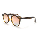 Ray-Ban Sunglass Gatsby II Round Style Matte Tortoise Color Copper Gradient Mirrored Lens- RB4257 6267/B9 50MM