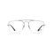 Ray-Ban Eyeglass - Square Style General Gaze Model Silver / Demo Color RB6441 2501 56