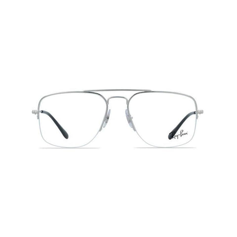 Ray Ban Eyeglasses RX RB6441 2501 56 The General Gaze Silver Optical Frame