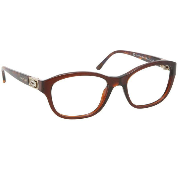 Bvlgari Eyeglasses Square Frame with Demo Lens | Side
