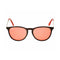 Ray Ban RB4171F Erika Color Mix 6339/D0 Brown Silver Frame/Dark Red Lens 54mm