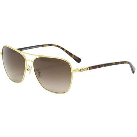 Coach Sunglasses Aviator Style Brown Gradient Lens