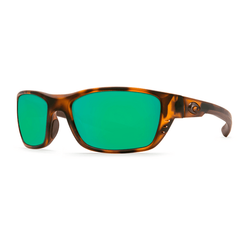 Costa Del Mar Rectangular Style Sunglasses W/Green Mirrored Polarized (580G) Lens