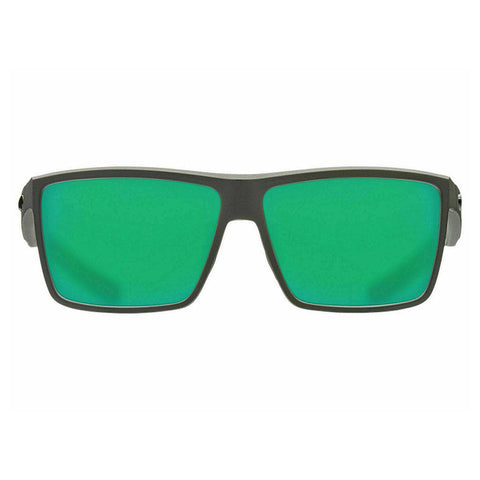 Costa Del Mar Rectangular Style Sunglasses W/Green Mirror Polarized (580) Lens