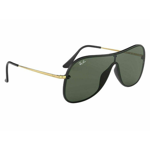 Ray Ban Aviator Style Sunglasses W/Green Lens