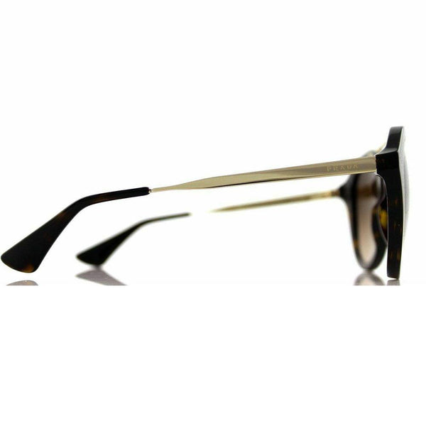 Prada Cat Eye Style Sunglasses W/Brown Gradient Lens