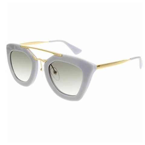 Prada Aviator Style Sunglasses W/Grey Gradient Lens