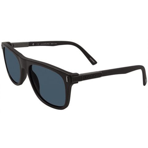 Chopard Sunglasses Square Style Blue Polarized Lens