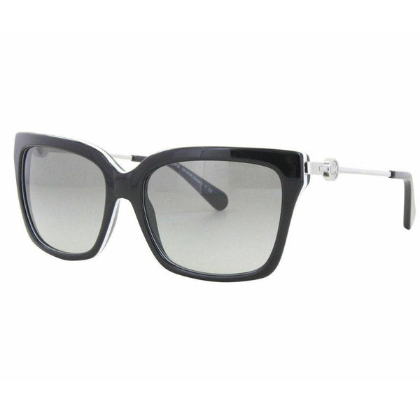 Michael Kors Sunglass MK6038 312911 Abela I Square Style | Black/White Color
